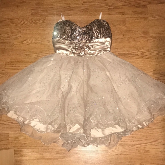 Xtraordinary Dresses & Skirts - Gold dress for homecoming